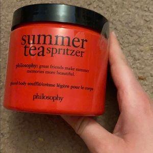 Summer tea spritzer philosophy new
